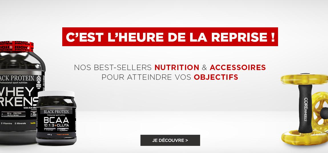 https://ahead.fitnessboutique.fr/Préparez la reprise Notre sélection de produits de nutrition et d'accessoires
