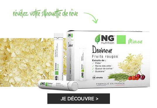 Draineur - Détoxifiant Draineur NGNUTRITION