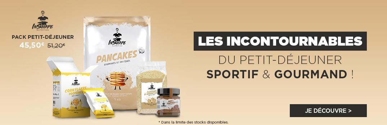 Pancakes Pack Petit-Déjeuner Sportif et Gourmand TIBO INSHAPE