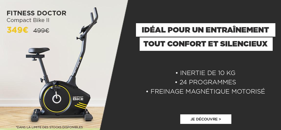 https://ahead.fitnessboutique.fr/Vélo d'Appartement Compact Bike 2 FITNESS DOCTOR