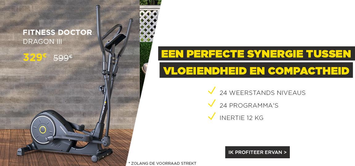 https://ahead.fitnessboutique.fr/Elliptische fiets Dragon III FITNESS DOCTOR